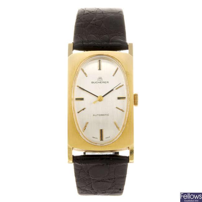 BUCHERER - a gentleman's wrist watch.