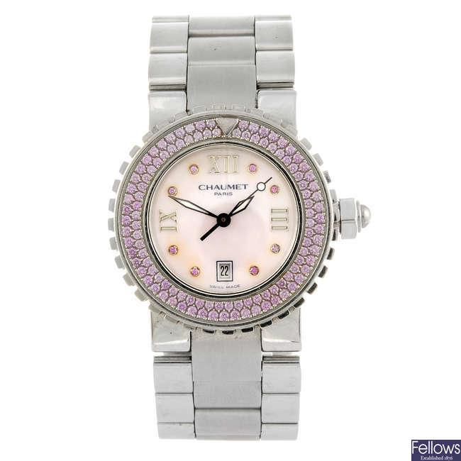 CHAUMET - a lady's Class One bracelet watch.