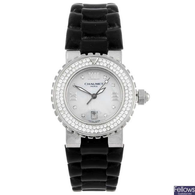 CHAUMET - a lady's Class One wrist watch.