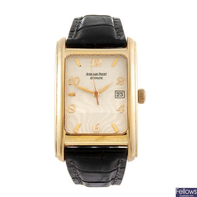 AUDEMARS PIGUET - a gentleman's Edward Piguet wrist watch.