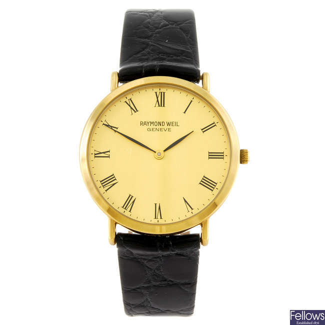RAYMOND WEIL - a gentleman's wrist watch.