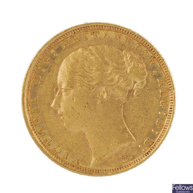 Victoria, Sovereign 1886S.