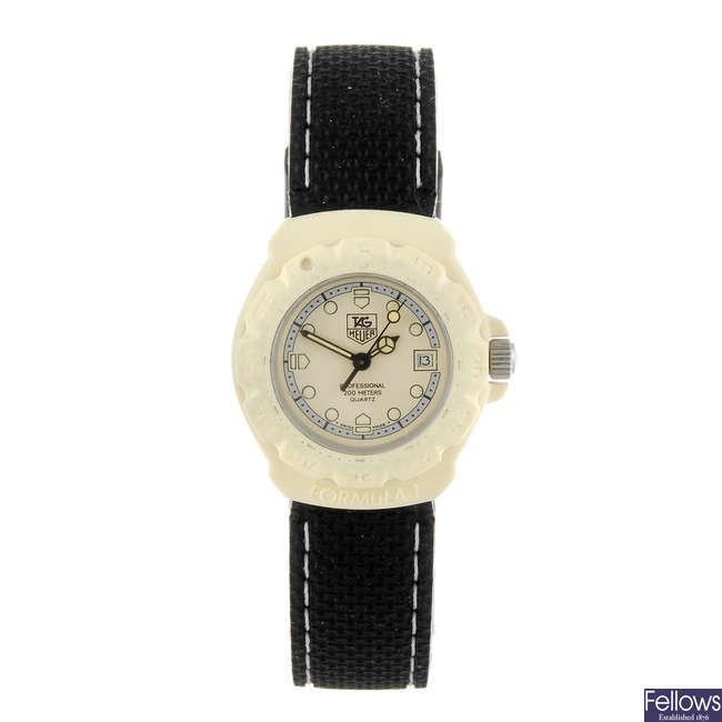 TAG HEUER - a lady's Formula 1 wrist watch.