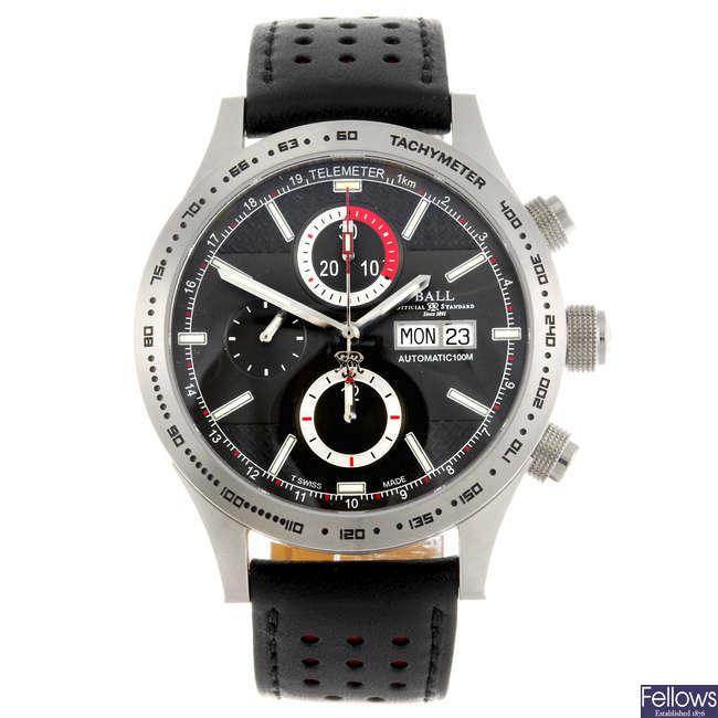 BALL - a gentleman's Fireman Storm Chaser chronograph wrist watch