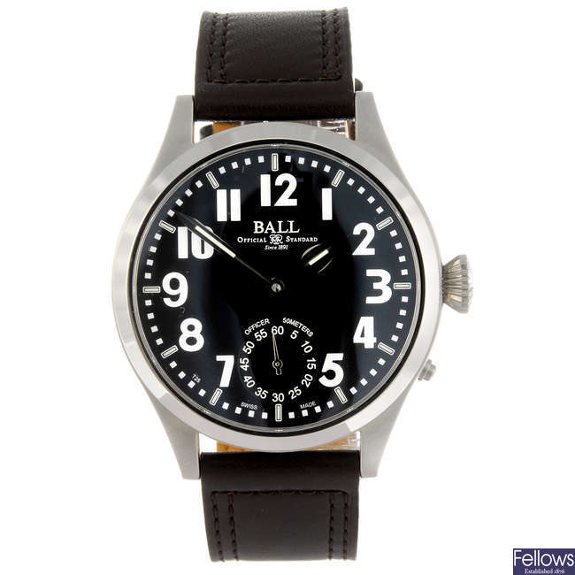 BALL - a gentleman's Engineer Master II Officer wrist watch.