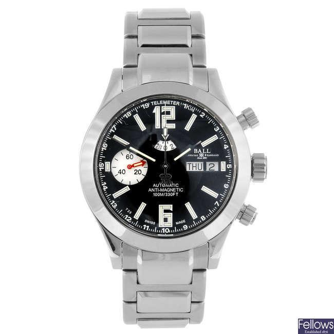 BALL - a gentleman's Engineer Master II Telemeter Chronograph bracelet watch.