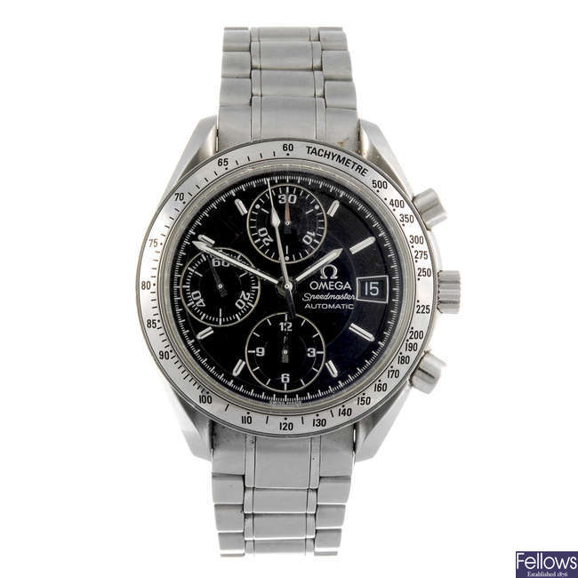 OMEGA - a gentleman's Speedmaster Professional chronograph bracelet watch.
