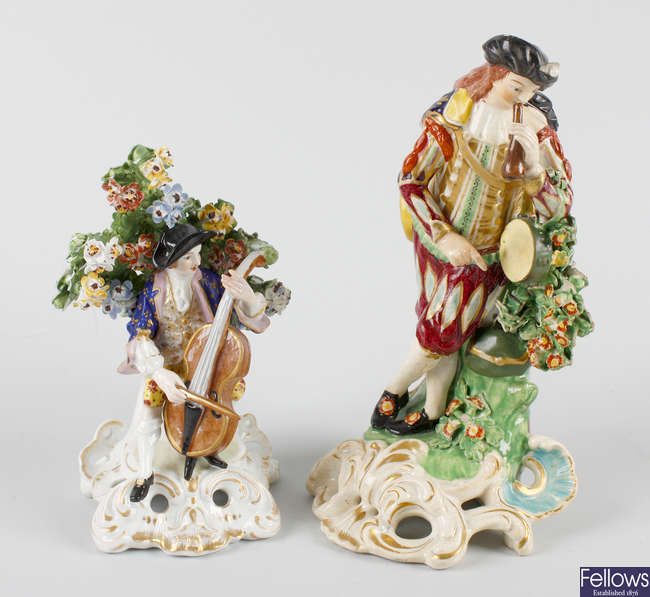 Two Royal Crown Derby figures
