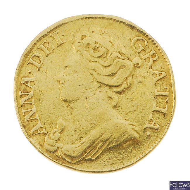 Anne, Guinea 1711 (S 3574).