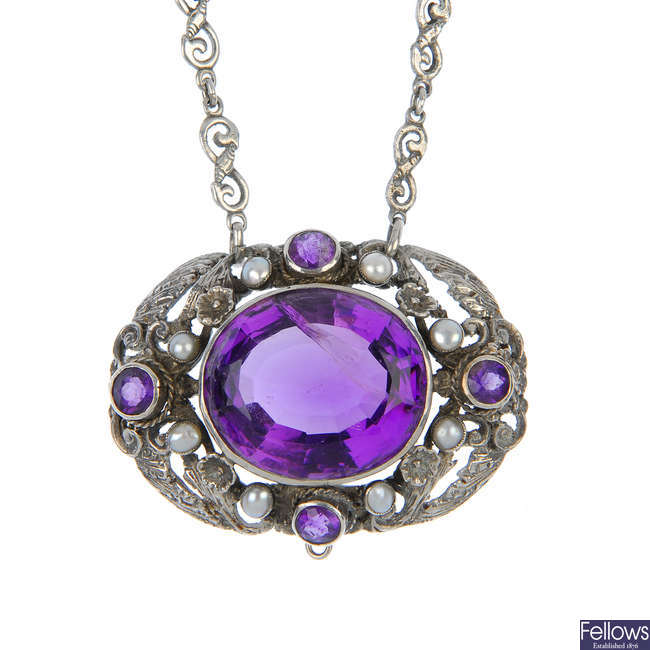An Austro-Hungarian necklace