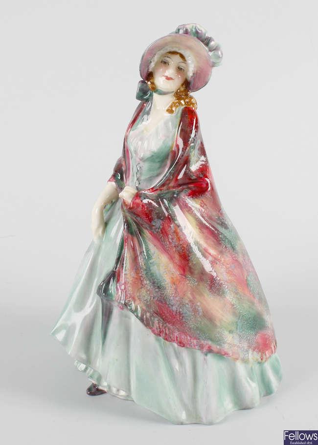 A Royal Doulton figure, 'The Paisley Shawl'