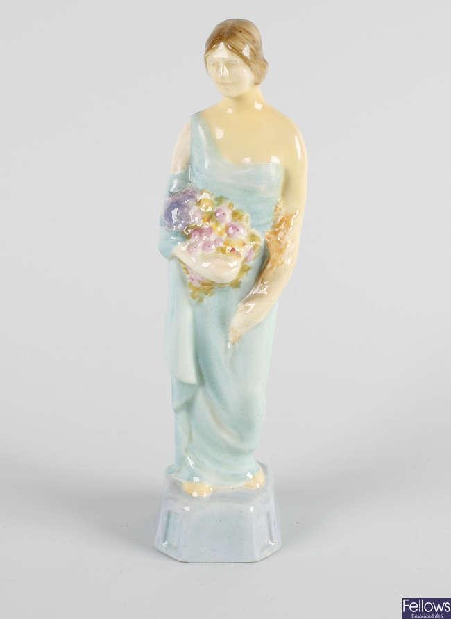 A Royal Doulton figure, 'Autumn'