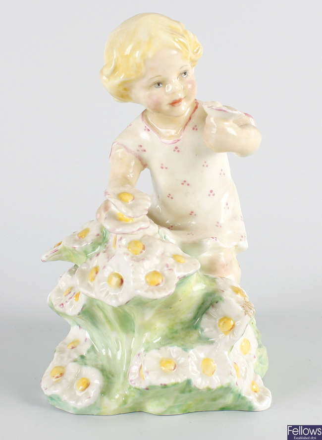 A Royal Worcester figure, 'May'