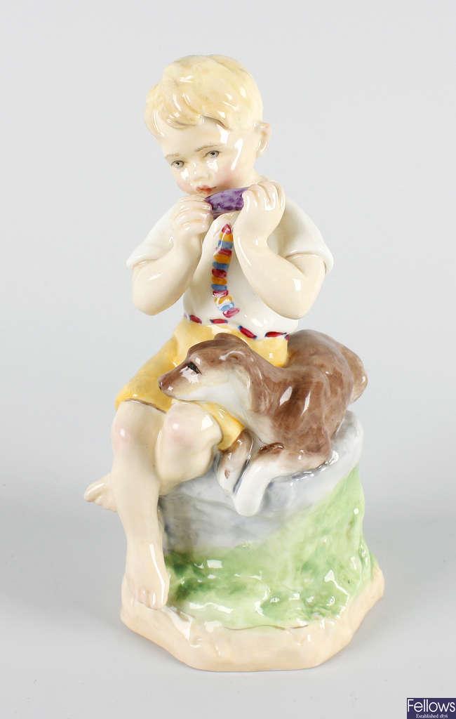 A Royal Worcester figure, 'June'