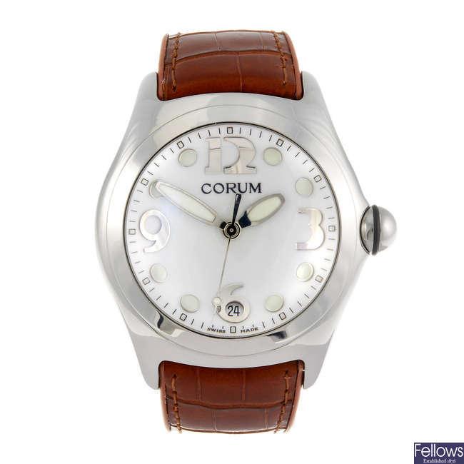CORUM - a gentleman's Bubble wrist watch.