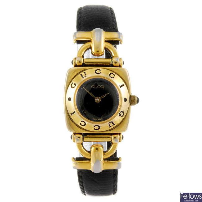 GUCCI - a lady's 6300L wrist watch.