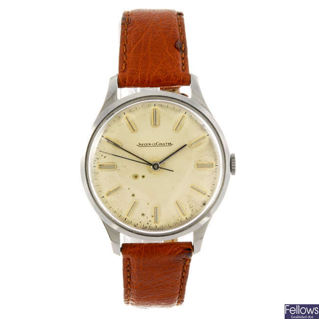 JAEGER-LECOULTRE - a gentleman's wrist watch.