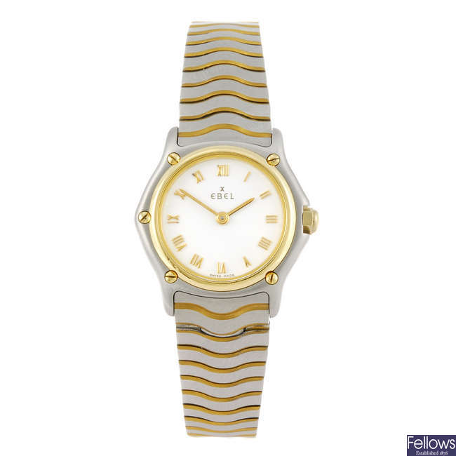 EBEL - a lady's Classic Sport bracelet watch.