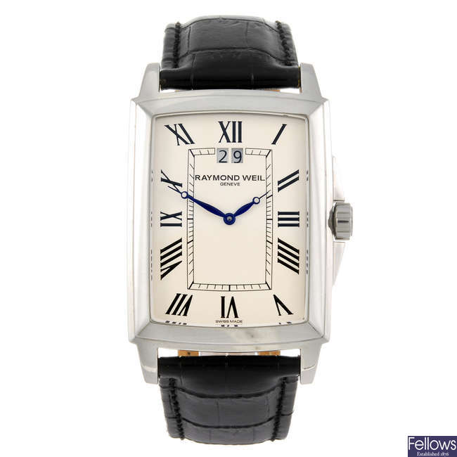 RAYMOND WEIL - a gentleman's Tradition wrist watch.