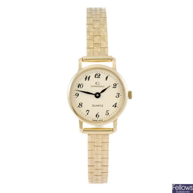 GARRARD - a lady's bracelet watch.