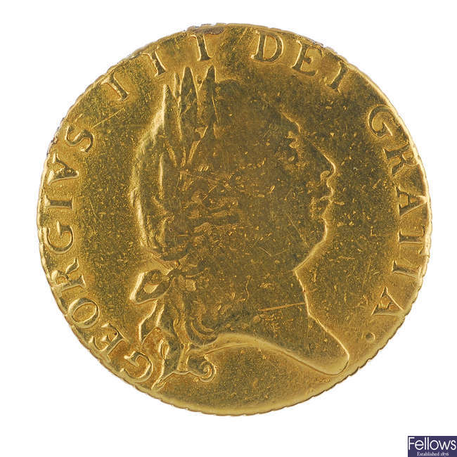George III, Half-Guinea 1790 (S 3735).