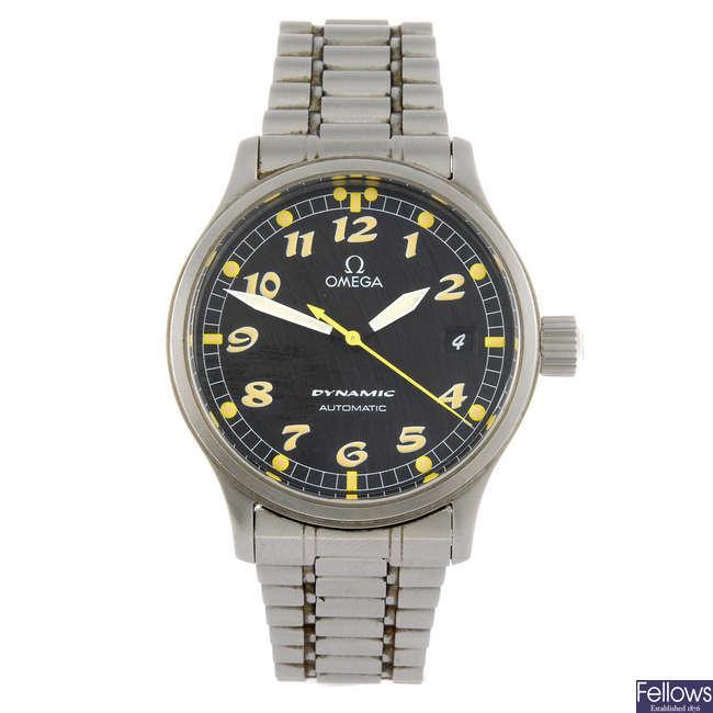 OMEGA - a gentleman's Dynamic bracelet watch.