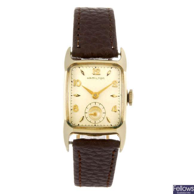 HAMILTON - a wrist watch.