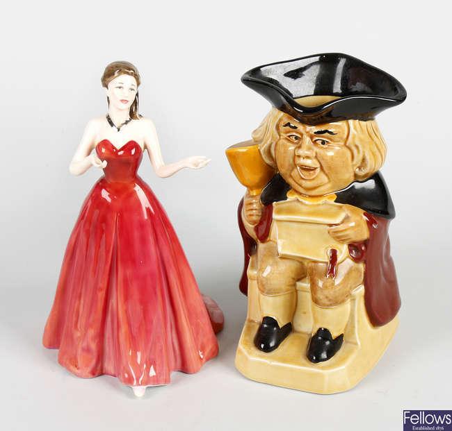 A Royal Doulton bone china figure 'My Love'