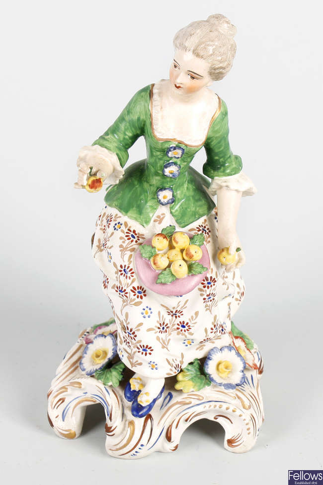 A 19th century Samson porcelain figure