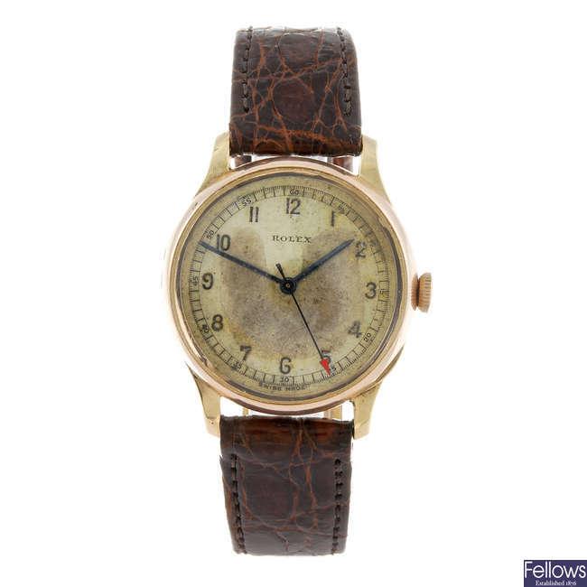 ROLEX - a gentleman's wrist watch.