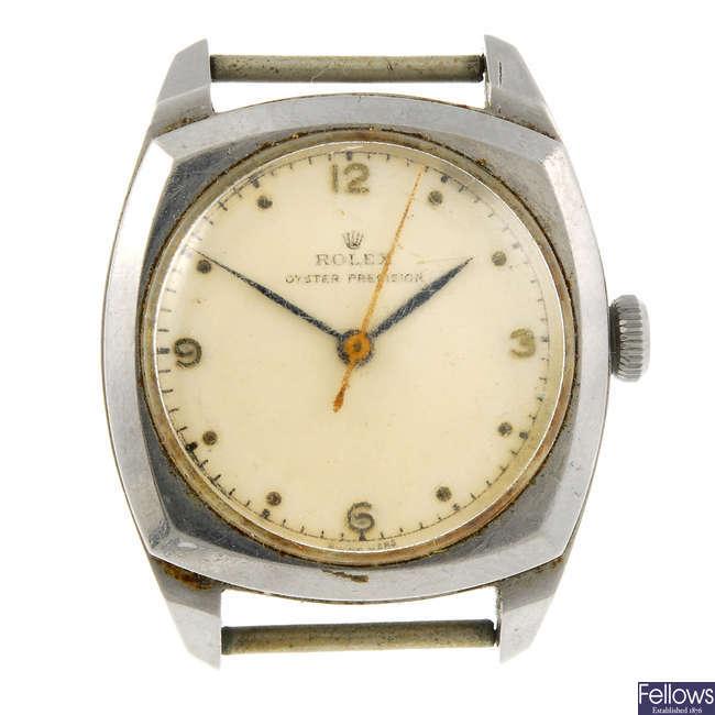 ROLEX - an Oyster Precision watch head.