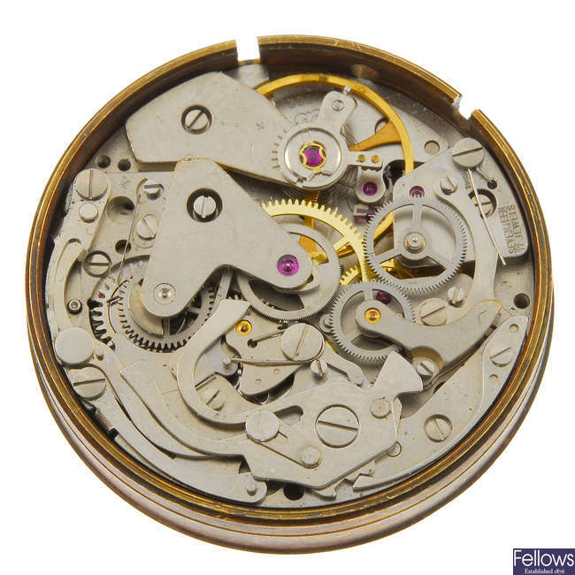 VALJOUX - a manual wind chronograph calibre 7733.