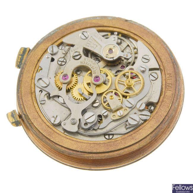 LEMANIA- a manual wind chronograph calibre 1270.