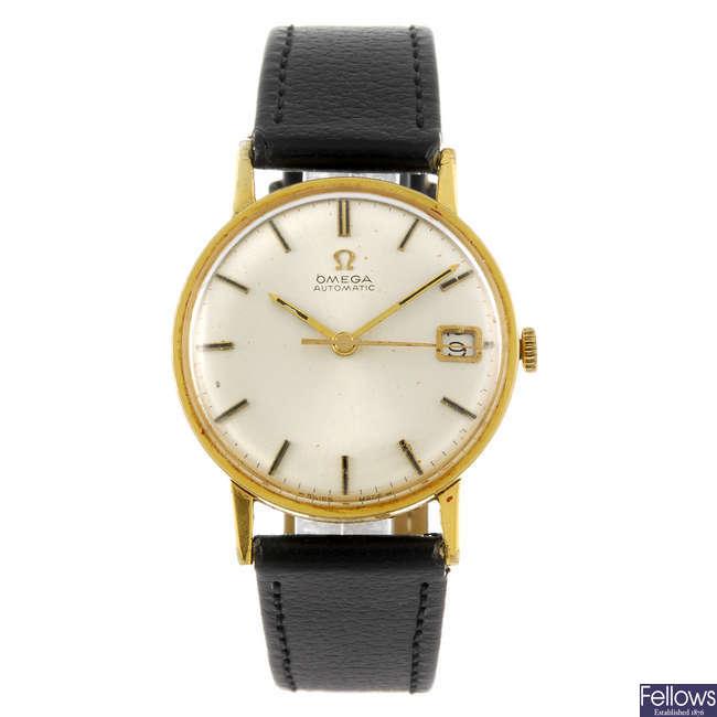 OMEGA - a gentleman's automatic wrist watch.