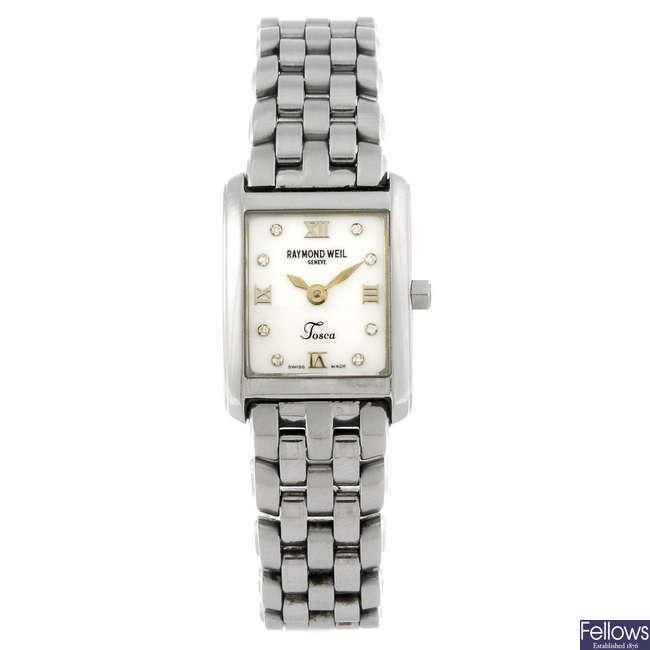 RAYMOND WEIL - a lady's Tosca bracelet watch.