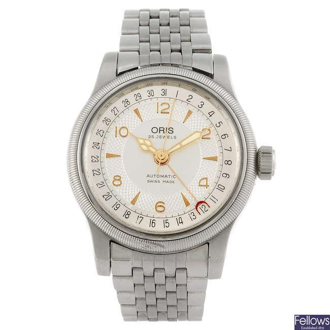 ORIS - a  gentleman's Big Crown bracelet watch.