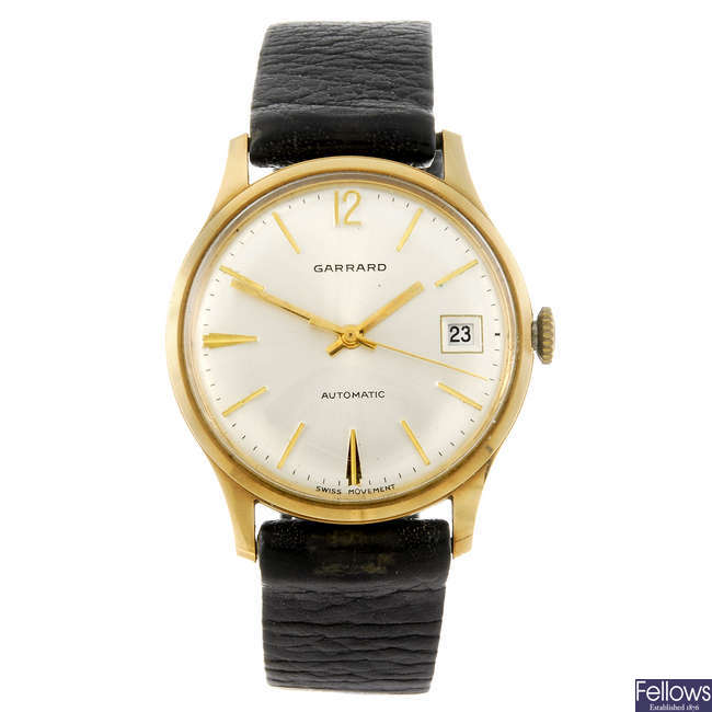 GARRARD - a gentleman's wrist watch.