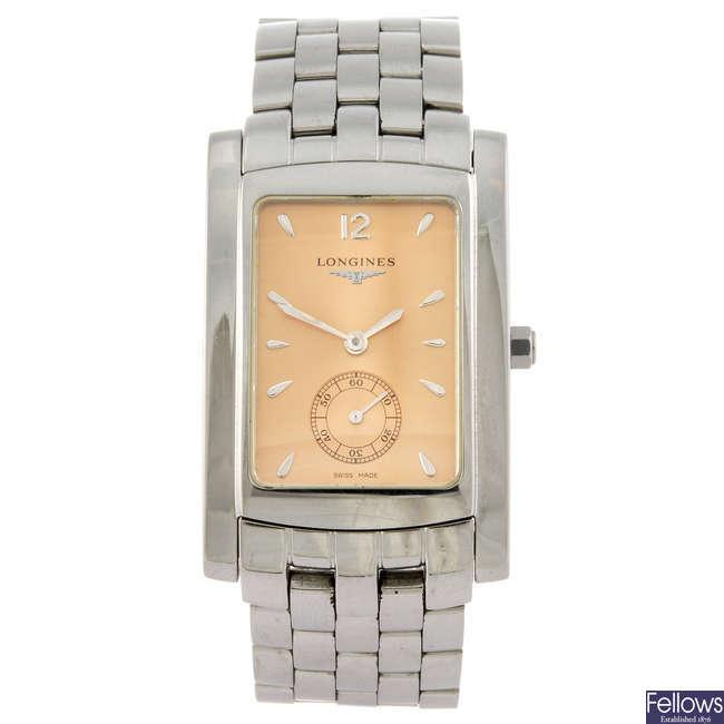 LONGINES - a gentleman's Dolce Vita bracelet watch.