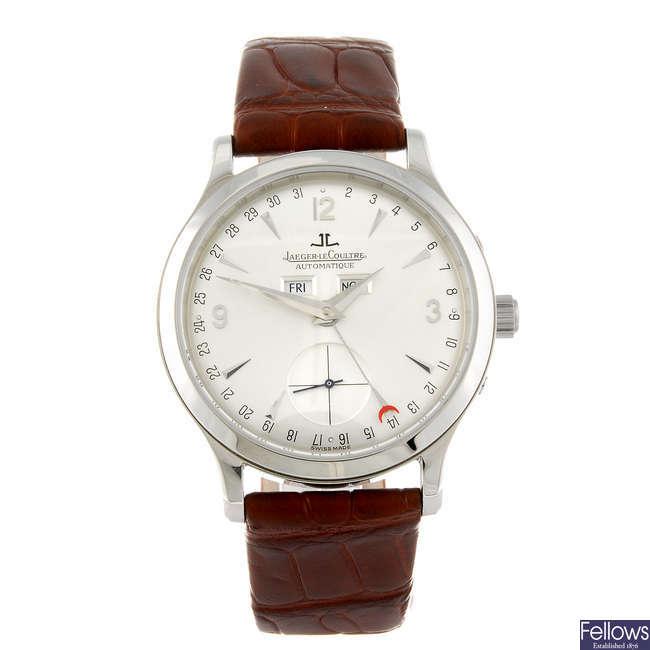 JAEGER-LECOULTRE - a gentleman's Master Control wrist watch.