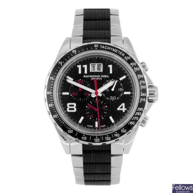 RAYMOND WEIL - a gentleman's RW Sport chronograph bracelet watch.