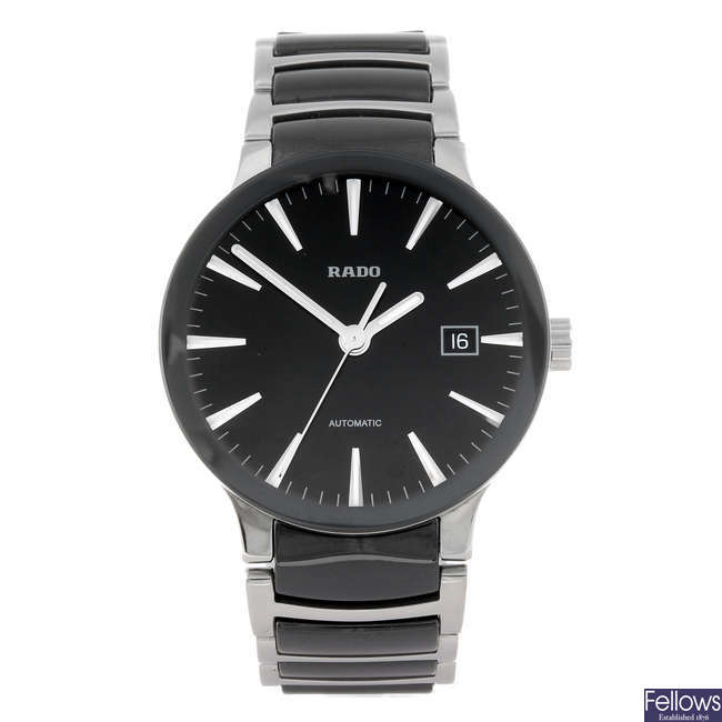 RADO - a gentleman's Centrix bracelet watch.