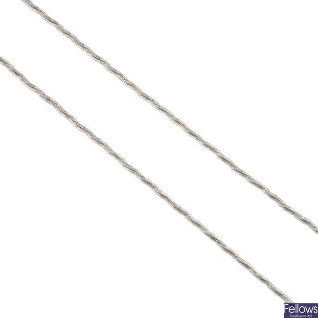 A fancy-link chain.