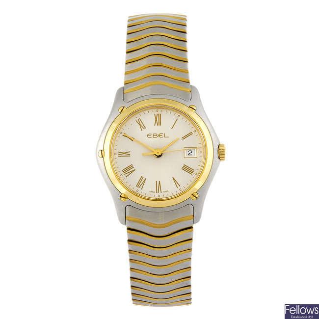 EBEL - a lady's Classic Wave bracelet watch.