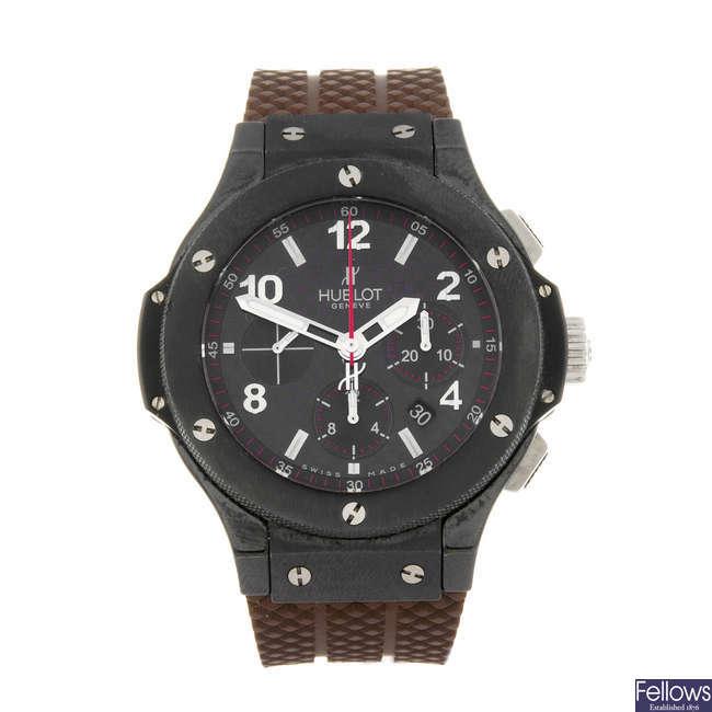 HUBLOT - a limited edition gentleman's Big Bang 'Cappuccino' chronograph wrist watch.