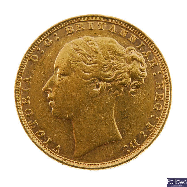 Victoria, Sovereign 1880.