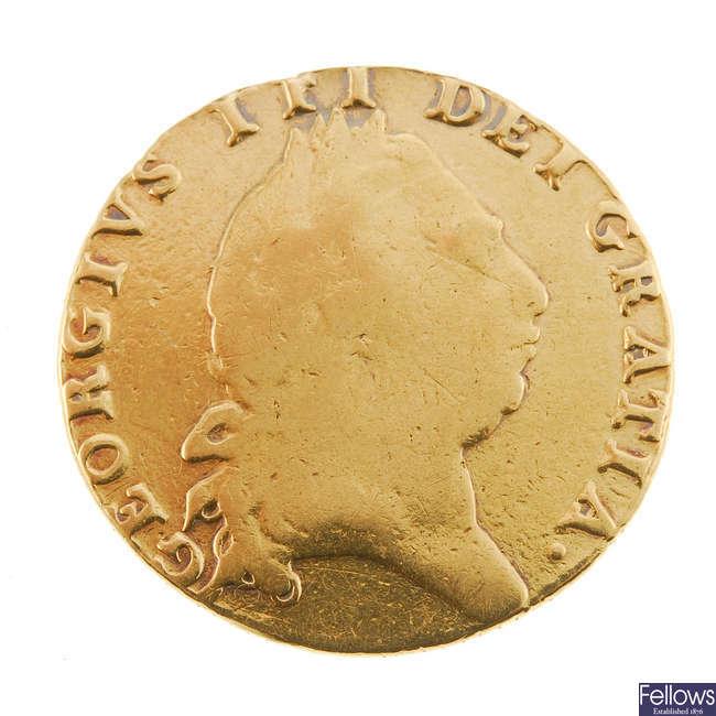 George III, Guinea 1793.