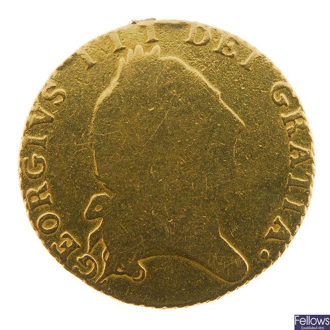 George III, Half-Guinea 1793.