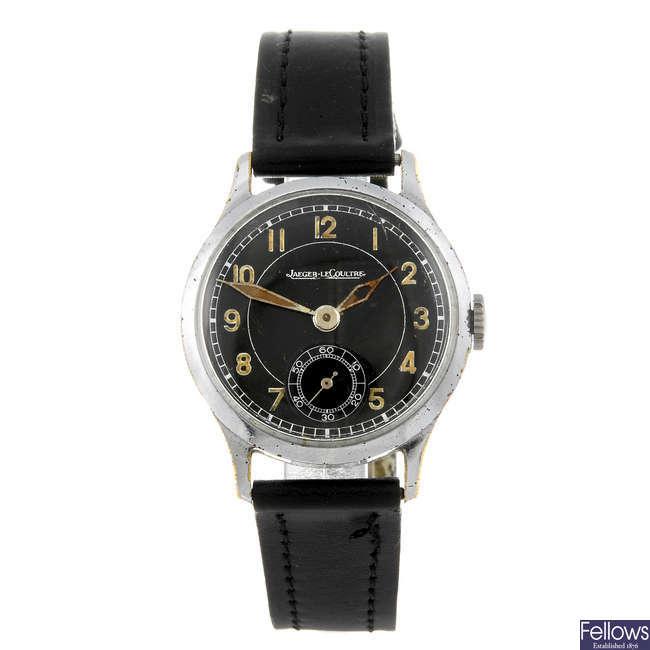 JAEGER-LECOULTRE - a base metal gentleman's wrist watch.