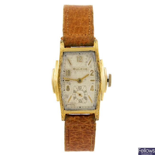 BULOVA - a gentleman's wrist watch.
