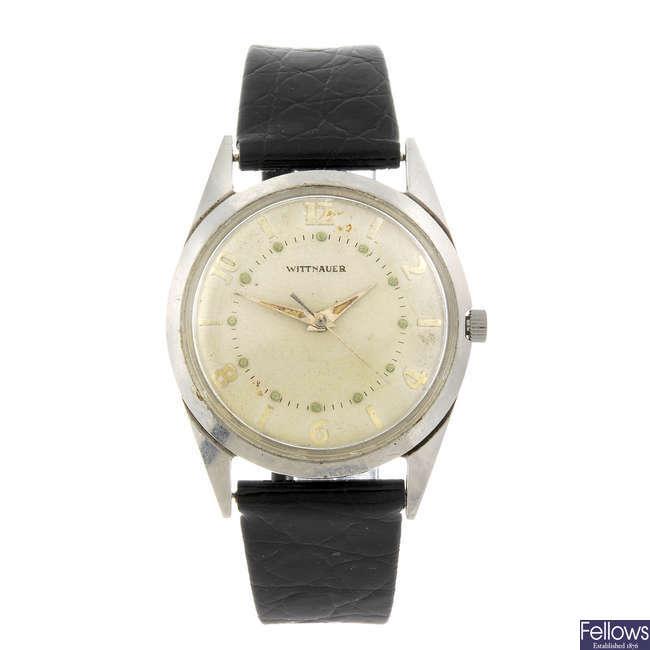 WITTNAUER - a gentleman's wrist watch.